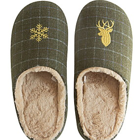 preiswerte Textilien für Zuhause-Damenhausschuhe / Herrenhausschuhe Pantoffel Freizeit Tüll Schuhe