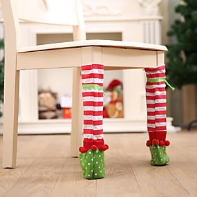 preiswerte Textilien für Zuhause-Stuhlabdeckung Mehrfarbig Gesteppt Polyester / Baumwoll Mischung Überzüge