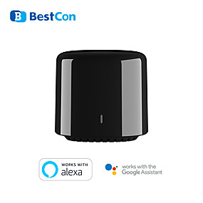 cheap Security Sensors-New BroadLink BestCon RM4C mini Wi-Fi Smart Universal Remote Control IR&RF Universal Remote works with Google Home Alexa Smart Home HUB External Sensor