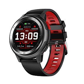 billige Nyheter-dt no.1 dt68 full sirkel touch armbånd 20 ur ansiktsendring ecg pulsmåler smart klokke
