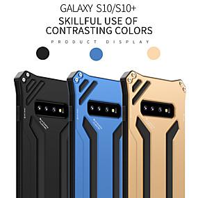 povoljno Maske za mobitele-Θήκη Za Samsung Galaxy S9 / S9 Plus / S8 Plus Otporno na trešnju Stražnja maska Jednobojni Aluminij