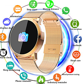 cheap Specials & Offers-IMOSI Q8 Smartwatch Stainless Steel BT Fitness Tracker Support Notify/ Heart Rate Monitor Sport Bluetooth Smartwatch Compatible IOS/Android Phones