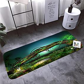 preiswerte Accessoires für das Bad-1pc moderne Badematten / Badteppiche Coral Velve geometrische / abstrakte 5mm Badezimmer neues Design