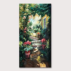 preiswerte Bekannte Meisterwerke-Hang-Ölgemälde Handgemalte - Berühmte Landschaft Klassisch Traditionell Ohne Innenrahmen