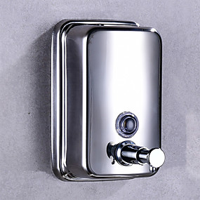 cheap Others Supplies-Soap Dispenser Hand Sanitizer Bottle Press Stainless steel 500 ml