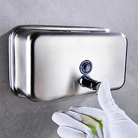 cheap Soap Dispensers-Soap Dispenser Soap / Foam Dispenser Press Stainless steel 1200 ml