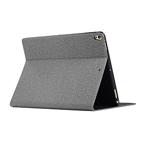 cheap iPad case-Case For iPad New Air(2019) / iPad 10.2''(2019) / iPad Mini 5 / 4 / 3 / 2 / 1 with Stand / Flip / Origami Full Body Cases Solid Colored Case For iPad Pro 9.7 / iPad Air 2 / iPad (2018) / iPad 2/3/4
