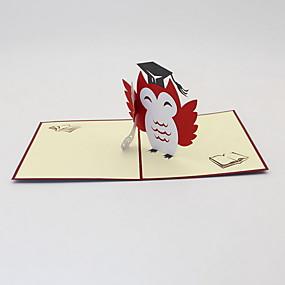preiswerte Karten & Einpacken-Karte Papier Geschenk 1 pcs
