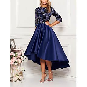 preiswerte Damen Kleider-Damen Elegant & Luxuriös Swing Kleid - Druck, Geometrisch Midi