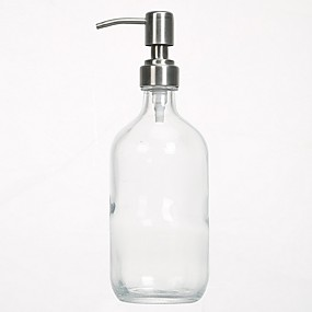 cheap Soap Dispensers-Soap Dispenser Press Stainless steel 500 ml