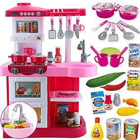 preiswerte Verkleiden & Rollenspiele-Spielzeug-Küchen-Sets Spielzeug Geschirr Tee-Sets Spielessen Große Größe PVC Kinder Jungen Mädchen Spielzeuge Geschenk