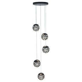 povoljno Lámpatestek-vintage luster svjetlo viseći privjesak svjetiljka metalik slikanje vodio integriranu svjetiljku stropnu učvršćenje za dnevni boravak blagovaonice stepenice rasvjeta