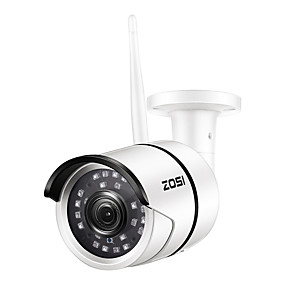 cheap Outdoor IP Network Cameras-ZOSI 1080P Wifi IP Camera Onvif 2.0MP HD Outdoor Weatherproof Infrared Night Vision Security Video Surveillance Camera