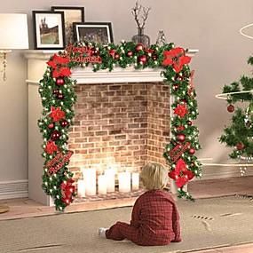povoljno Božična svjetla-1set božićno drvce Božična rasvjeta Toplo bijelo Božićne ukrase 220-240 V Božić