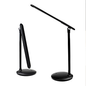cheap Desk Lamps-Reading Light Rechargeable Adjustable Modern Contemporary DC Powered For Kids Room Office DC 5V White Black