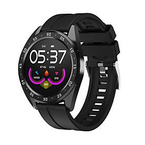 billige Nyheter-g10 smartwatch bt fitness tracker support varsle / blodtrykksmåling sport smartklokke for samsung / iphone / android telefoner