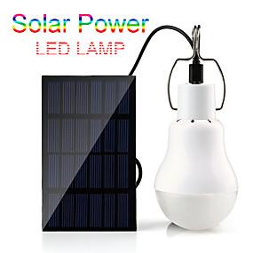 preiswerte Außenwandleuchten-15 watt 110lm solar power outdoor licht solar lampe tragbare lampe solarenergie lampe led beleuchtung micro usb lade 5 v garten party 3,5 mt