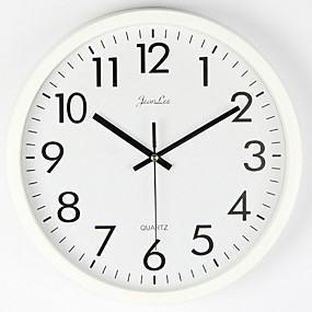 cheap Rustic Wall Clocks-Wall Clock Silent Non Ticking - 10 Inch Quality Quartz Battery Operated Round Easy to Read Home/Office/Classroom/School Clock