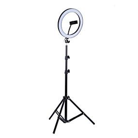 billige Innendørsbelysning-foto ledet selfie ring fyllingslys 10 tommer dimbar kameratelefon 26 cm ringlampe med stativ stativ for sminke video live studio