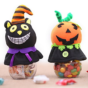 cheap Christmas Decorations-Halloween Party Halloween Decor Horror Ghost Holiday Decorations Holiday Cloth Cube Novelty