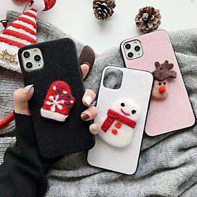 povoljno Maske za mobitele-Θήκη Za Huawei Huawei P20 / Huawei P20 Pro / Huawei P20 lite Šljokice / Slučaj igre Stražnja maska Jednobojni / Božić TPU