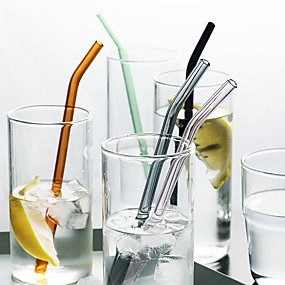 cheap Drinkware-Straws Glasses Portable Casual / Daily Drinkware