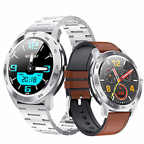 cheap Smart Watches-Smartwatch Digital Modern Style Sporty PU Leather 30 m Water Resistant / Waterproof Heart Rate Monitor Bluetooth Digital Casual Outdoor - Black Brown Black / Gray