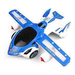 preiswerte Spielzeugflugzeuge-Spielzeug-Flieger Transformierbar Schein Eltern-Kind-Interaktion Plastikschale Kinder Alles Spielzeuge Geschenk