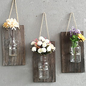 Wall Accents-Novelty Wall Decor Wooden / Glass 3D Print Wall Art, Wall Hangings Decoration