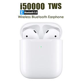 preiswerte Computer & Büro-LITBest i50000 TWS True Wireless Headphone Kabellos EARBUD Bluetooth 5.0 Stereo Mit Mikrofon Mit Lautstärkeregelung