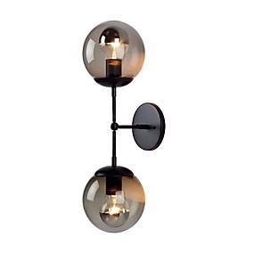 preiswerte Befestigungen für Beleuchtung-Kreativ Moderne zeitgenössische Wandlampen Schlafzimmer / Studierzimmer / Büro Metall Wandleuchte 220-240V 40 W