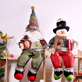 preiswerte Weihnachtsdeko-33 * 12 * 73cm Vlies Feiertagsdekorationen Weihnachtsdekorationen Weihnachtsfiguren / Weihnachtsschmuck / dekorative Objekte Cartoon / dekorative / schöne 1pc