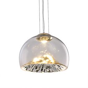 povoljno Viseća rasvjeta-HEDUO Privjesak Svjetla Ambient Light Electroplated Metal Glass Divan 110-120V / 220-240V