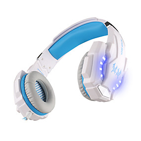 levne Hraní her-KOTION EACH G9000 Herní sluchátka Kabel Hraní her Stereo Dvojité ovladače s mikrofonem