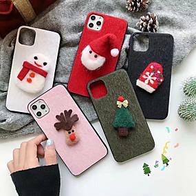 povoljno Maske za mobitele-Θήκη Za Xiaomi Xiaomi Redmi Note 7 / Xiaomi Redmi Note 7 Pro / Xiaomi Mi 8 Uzorak / Šljokice Stražnja maska Jednobojni / Božić TPU
