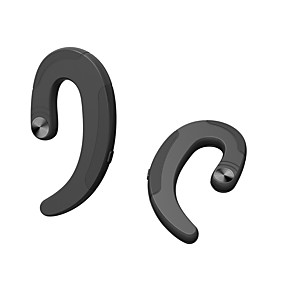 cheap Wired Earbuds-LITBest Q25c Bone Conduction Headphone Wireless Mobile Phone Bluetooth 4.2 Stereo Dual Drivers with Microphone