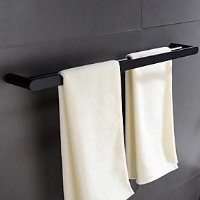 preiswerte Handtuchhalter-Handtuchhalter Neues Design / Cool Modern Edelstahl 1pc 2-Turm-Bar Wandmontage