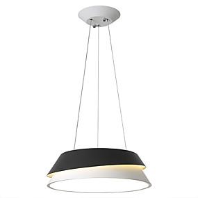 abordables Plafonniers-HEDUO Lampe suspendue Lumière d'ambiance Plaqué ABS Adorable 110-120V / 220-240V