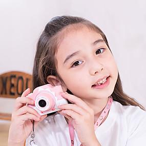 preiswerte CCTV Kameras-Kamera für Kinder stoßfest und vorne und hinten selfie Kamera 12,0 m mit 2,0 Zoll ips Bildschirm Kinder pädagogisches Spielzeug