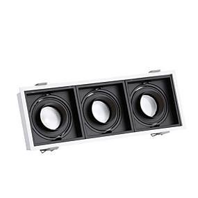 cheap LED Recessed Lights-3-Light 10.8 cm Flush Mount Spot Light Aluminum Geometrical Modern 110-120V / 220-240V