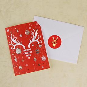 preiswerte Karten & Einpacken-Aufkleber Plastik Geschenk 1 pcs