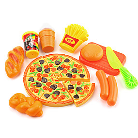 preiswerte Verkleiden & Rollenspiele-Spielzeug-Küchen-Sets Spielessen Tue so als ob du spielst Gemüse Frucht Obst & Gemüse Simulation Kunststoff Kinder Mädchen Spielzeuge Geschenk