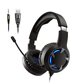 levne Hraní her-LITBest A9 Herní sluchátka Kabel Hraní her Stereo Dvojité ovladače s mikrofonem