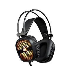 levne Hraní her-stereofonní herní sluchátka s herními sluchátky přes ucho s mikrofonním hlasovým ovládáním pro přenosný počítač