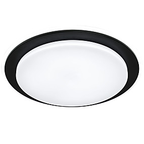 cheap Dimmable Ceiling Lights-1-Light 50 cm Creative Flush Mount Lights Metal Acrylic Globe Painted Finishes Modern Nordic Style 110-120V 220-240V VDE