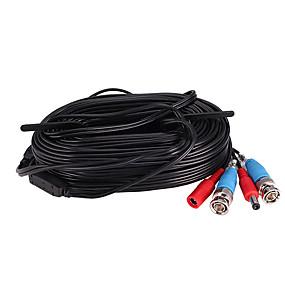 povoljno Sigurnosna oprema-zosi 18m 60ft kablovi bnc video i napajanje 12v dc integrirani kabel za sigurnosne sustave cctv