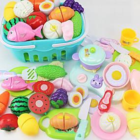 preiswerte Verkleiden & Rollenspiele-Spielzeug-Küchen-Sets Spielessen Tue so als ob du spielst PVC Kinder Jungen Mädchen Spielzeuge Geschenk