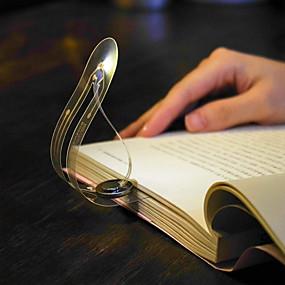 preiswerte Lese Lampe-zdm 1 stück lesezeichen buch licht weiches licht einfach für augen ultradünne batteriebetriebene led buch licht flexible leselampe