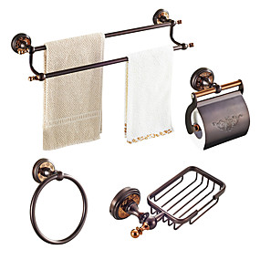 Oil Rubbed Bronze Bathroom Accessory, Oiled Bronze Bathroom Accessories
