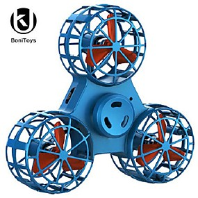 cheap Flynova-BoniToys F1 Flying Spinning Mini Hand Flying Toy Autism Anxiety Stress Release Toy Gift Finger Spinner Rotary Toy Hand Child Christmas Gift
